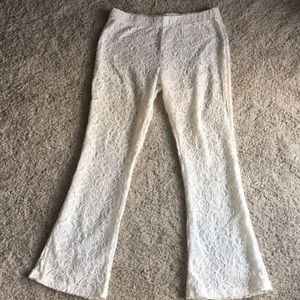 Aerie lace cover-up pants